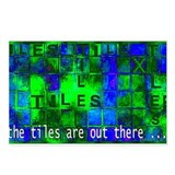 The Tiles are Out There... Postcards (Package of 8