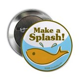 "Make a Splash! Good Luck 2.25"" Button"