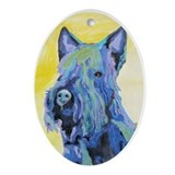 A Scottish Terrier Keepsake (Oval)
