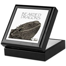 Bearded Dragons Keepsake Box