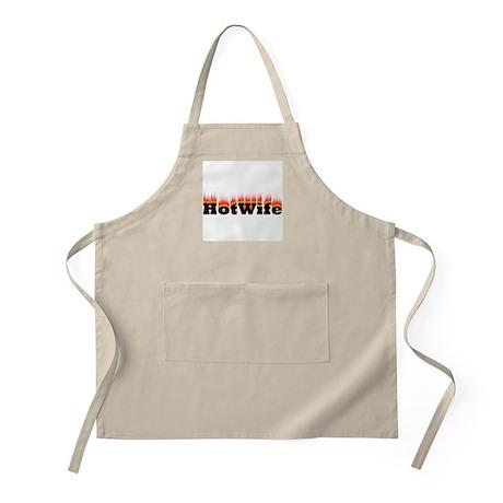 Flaming Hotwife BBQ Apron