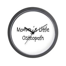 Mommy's Little Osteopath Wall Clock