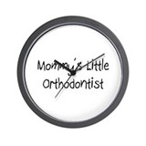 Mommy's Little Orthodontist Wall Clock