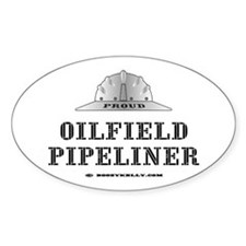 Oilfield Pipeliner Oval Decal