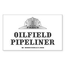 Oilfield Pipeliner Rectangle Decal