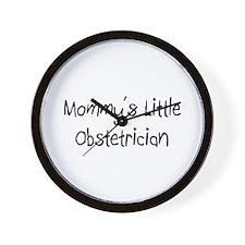 Mommy's Little Obstetrician Wall Clock