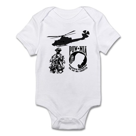 POW-MIA Black Infant Bodysuit