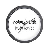 Mommy's Little Nutritionist Wall Clock