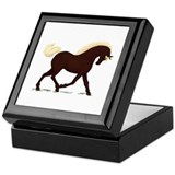 Rocky Mountain Horse Keepsake Box