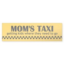 Mom's Taxi (getting kids...) Bumper Sticker 10-pk