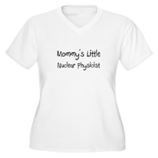Mommy's Little Nuclear Physicist T-Shirt