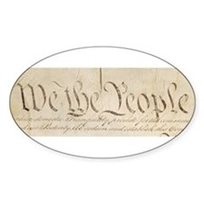 The Us Constitution Decal