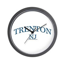 Trenton, NJ Wall Clock