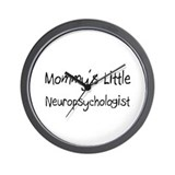 Mommy's Little Neuropsychologist Wall Clock