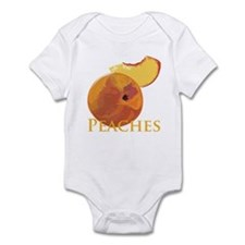 Velvety Peaches Infant Bodysuit