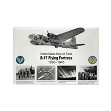 B-17 Commemorative Rectangle Magnet (100 pack)