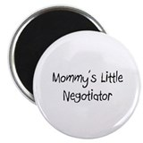 "Mommy's Little Negotiator 2.25"" Magnet (10 pack)"
