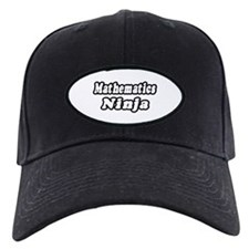 """Mathematics Ninja"" Baseball Hat"