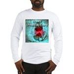 Beware! I Protect My Young! Long Sleeve T-Shirt