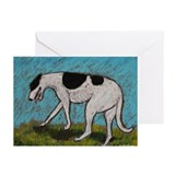 """No Direction"" a Greyhound Greeting Cards (Package"