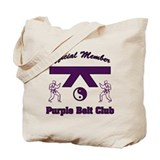 Purple Belt Club Tote Bag