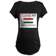 I Love My Tajik Boyfriend T-Shirt