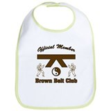 Brown Belt Club Bib