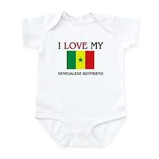 I Love My Senegalese Boyfriend Infant Bodysuit