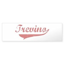 Trevino (red vintage) Bumper Sticker (10 pk)