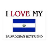 I Love My Salvadoran Boyfriend Postcards (Package
