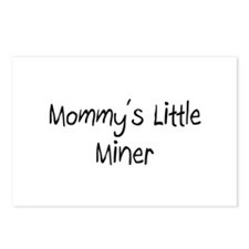 Mommy's Little Miner Postcards (Package of 8)