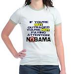 Outraged Jr. Ringer T-Shirt