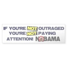 Outraged Bumper Sticker (50 pk)