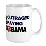 Outraged Large Mug