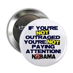 """Outraged 2.25"""" Button"""