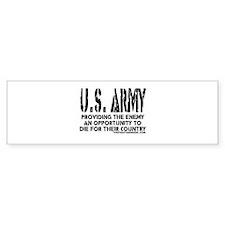 U.S. ARMY Providing Enemy Bumper Sticker (10 pk)