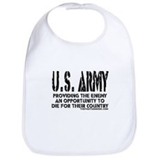 U.S. ARMY Providing Enemy Bib