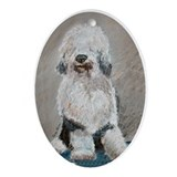 Old English Sheepdog Keepsake (Oval)