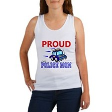 Proud of My Police Mom Women's Tank Top