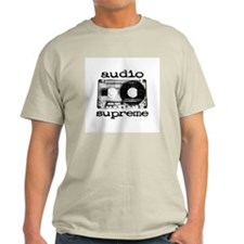 Audio Tape | Ash Grey T-Shirt