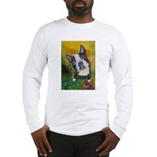 A Boston Terrier Long Sleeve T-Shirt