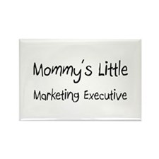 Mommy's Little Marketing Executive Rectangle Magne