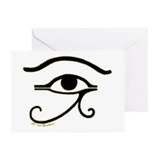 The Eye of Horus 2 Greeting Card