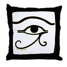 The Eye of Horus 2 Throw Pillow