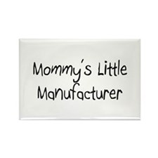 Mommy's Little Manufacturer Rectangle Magnet (10 p