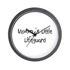 Mommy's Little Lifeguard Wall Clock