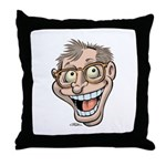 Manic Howie Throw Pillow