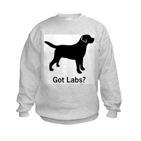 Got Labs? Silhouette Kids Sweatshirt