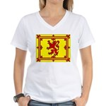 Scotland Women's V-Neck T-Shirt