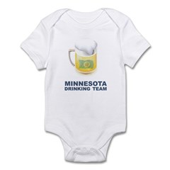 Minnesota Drinking Team Infant Bodysuit